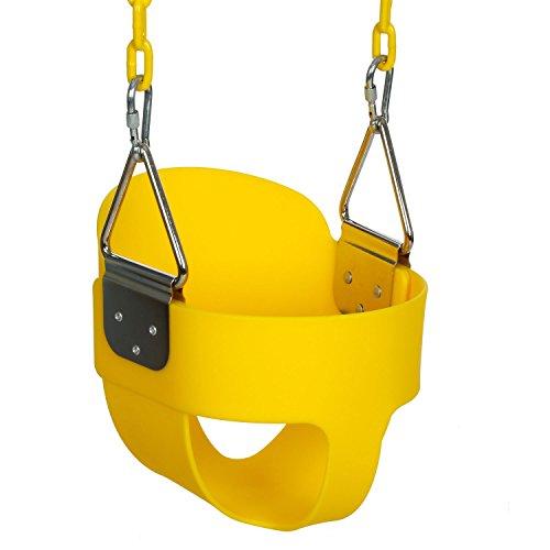 Balancín para niños con asiento de plástico OUTCAMER