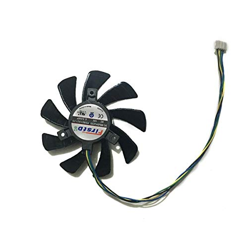 Miwaimao 85MM Fan R7 360/260X/265 GPU VGA Cooler for Radeon HIS R7 360 R7 260X R7 265 iCooler Graphics Card Cooling System as Replacement