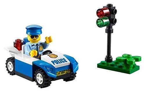 Polizeiauto mit Ampel