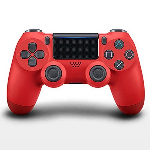 Zexrow Mando para Nintendo Switch, Mando Pro Controller Mando Pc Inalambrico con Función Gyro Axis/Dual Shock Y Turbo Compatible con Nintendo Switch (Color : Red)