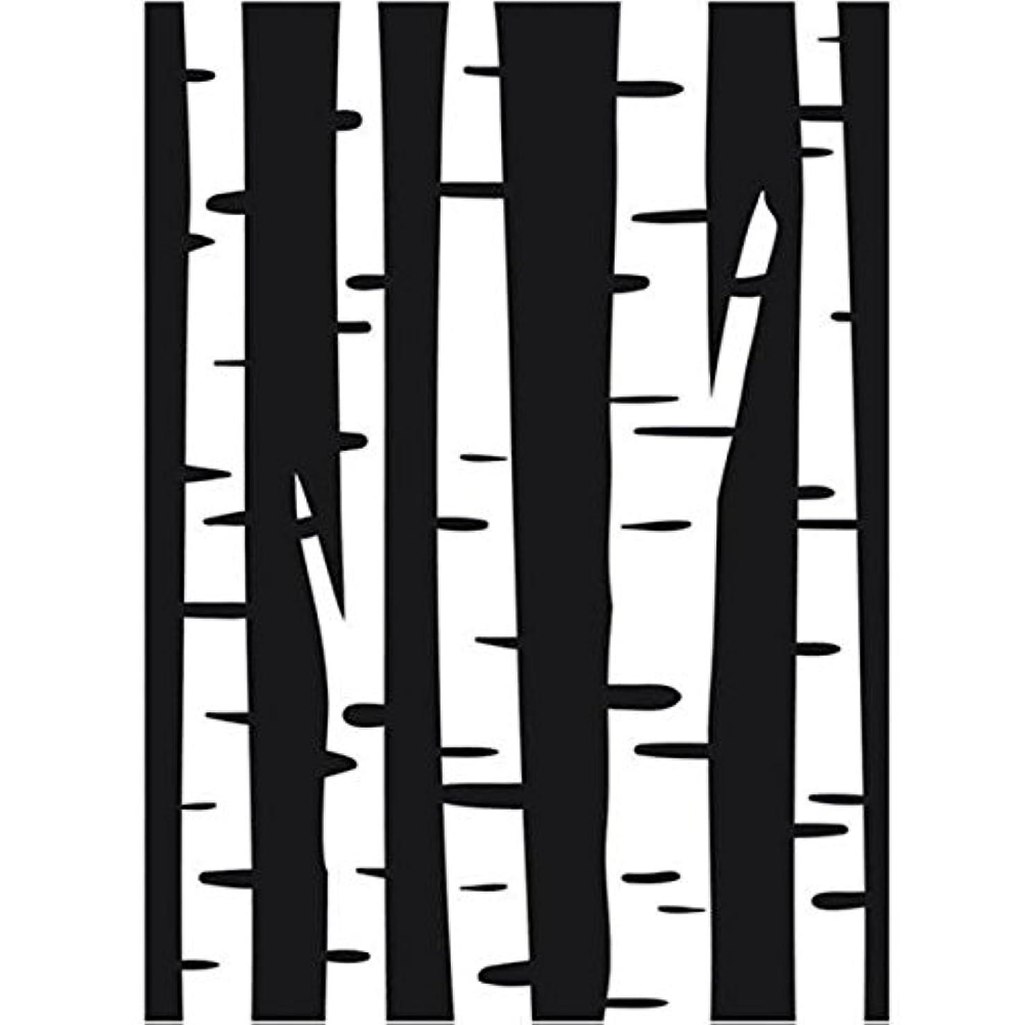 Darice Embossing Folder, 4.25 by 5.75-Inch, Birch Tree
