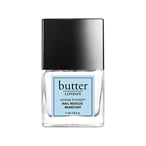 butter LONDON Horse Power Nail Rescue Base Coat, nail strengthener for brittle nails