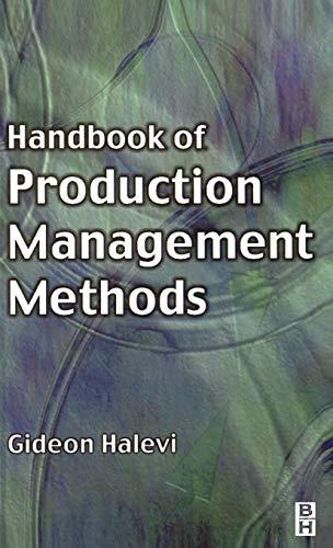 Handbook of Production Management Methods