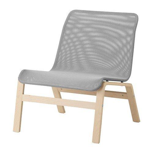 Ikea NOLMYRA Sessel in Grau; aus Birkenfunier