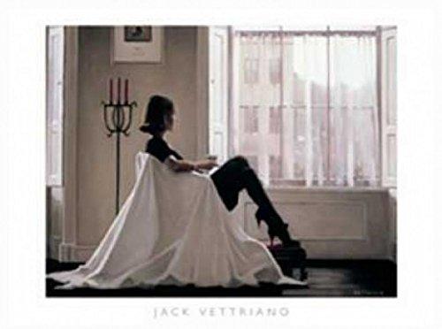 1art1 Jack Vettriano - In Gedanken Bei Dir Poster Kunstdruck 80 x 60 cm
