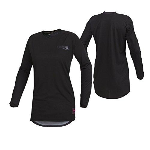 O'Neal 001E-14C Women's Element Classic Jersey (Black, Large)