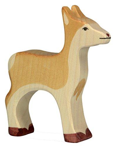 cama24com REH Holzfigur Holzspielzeug von Holztiger mit Palandi® Sticker