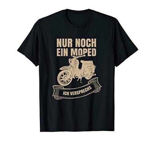 Schwalbenfahrer Schwalbe DDR Moped Design Geschenk T-Shirt