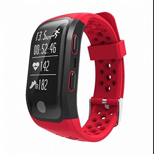 Tracker d'Activité Cardiofréquencemètre,Fil de Suture,Compteur de Calories,Podomètres,Sommeil chronomètre,Style Luxueux,Sport bracelet Santé Fitness Tracker d'activité watch pour Android et iOS
