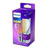 Philips Bombilla LED cristal 150 W estándar E27, luz blanca cálida, transparente, no regulable