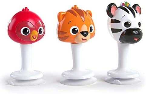 Baby Einstein Rattle Jingle Trio Take Along Toy Musical Rattle Set Ages 6 Months product image