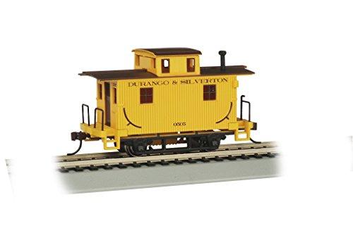 Bachmann - Durango & Silverton Bobber Caboose, Prototypical Yellow
