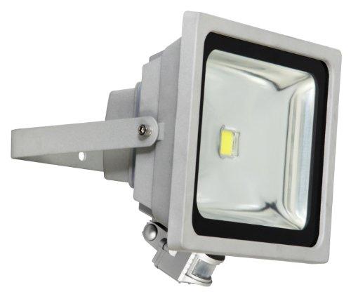 Éclairage de sécurité Smartwares SL1-B10B – Projecteur LED – 10 W – Détecteur de mouvement – Extra plat