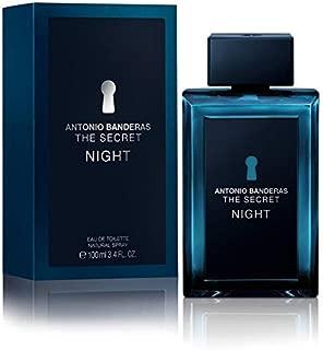 ANTONIO BANDERAS THE SECRET NIGHT Eau De Toilette Spray FOR MEN 3.4 Oz / 100 ml
