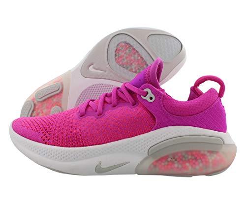 Nike Joyride Run Flyknit Zapatos deportivos para correr para mujer (rosa fuego/gris vasto, 7.5)