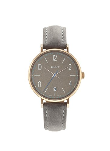 GANT Damen Analog Quarz Uhr mit Leder Armband GT035004