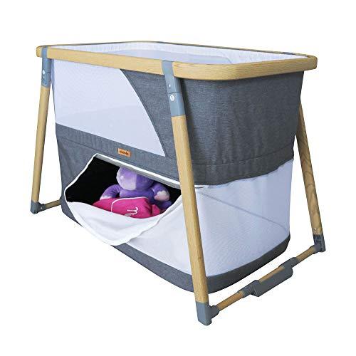 Cuna plegable LIDO 3 en 1 - cuna, cama plegable y corralito - Nania - 2 colores (beige)