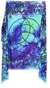 Large Triquetra Altar Cloth