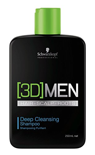 Schwarzkopf 3D Men Deep Cleansing Shampoo 250 Ml - 250 ml
