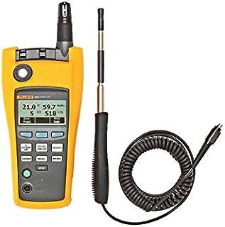 Fluke 975VP One-Touch Air Flow and Velocity Probe, 3000 fpm Velocity, For Fluke 975 AirMeter