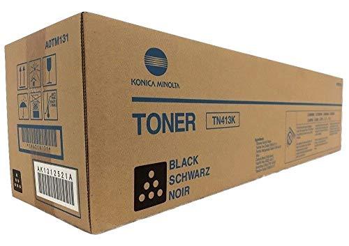 Konica Minolta TN413K Toner und Lasertoner für Laserdrucker, 4.5000 Seiten, Laser, Konica Minolta Bizhub C452 Laser Printer, Box