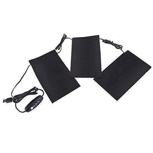 TopincN elektrisch verwarmd vest USB verwarmingskussen verwarming jack kit 5 V 2 A 8,5 W elektrische lichte warme kleding voor outdoor winter camping