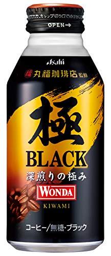 スマートマットライト アサヒ飲料 ワンダ 極 丸福珈琲店監修 ブラック ボトル 缶 400g ×24本
