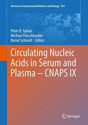 Circulating Nucleic Acids in Serum and Plasma – CNAPS IX (Advances in Experimental Medicine and Biology Book 924) (English Edition)