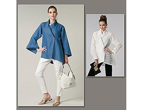 Vogue Lynn Mizono Designer Schnittmuster 1246Damen Top Größen: 16–18–20–22