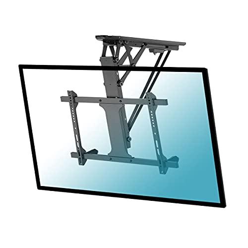 KIMEX 018-7064 - Soporte de techo retráctil motorizado para pantalla de TV de 49 a 70 pulgadas