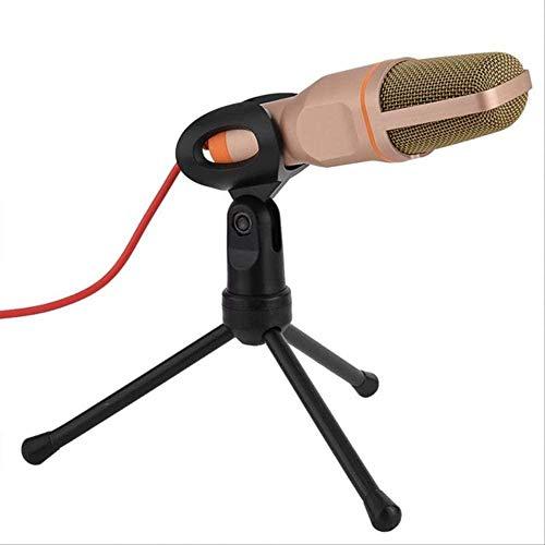 USB-microfoons professionele stereo podcast studio condensor thuis live karaoke microfoon met standaard voor pc laptop uitzending, opname, YouTube wit