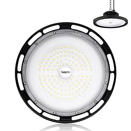 200W UFO LED Lámpara Alta Bahía Impermeable IP54,Industrial LED Iluminación Comercial Luces para Fábrica, Aeropuerto, Centro Comercial y Depósito
