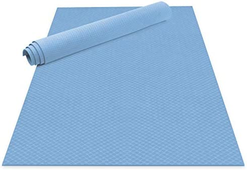 Odoland Large Yoga Mat 72 x 48 6 x4 x6mm for Pilates Stretching Home Gym Workout Extra Thick product image