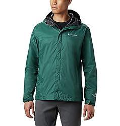 in budget affordable Columbia Men's Waterproof Jacket II, Dark Ivy, X-Large