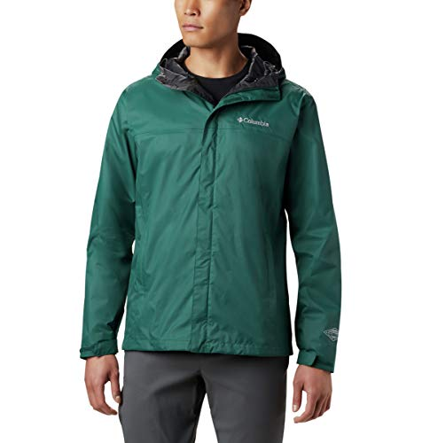 Columbia Men's Watertight II Waterproof Jacket, Dark Ivy, X-Large
