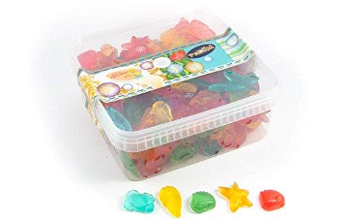 Deine Naschbox - Fruchtgummi Meeresfrüchte zuckerfrei - 1kg Box