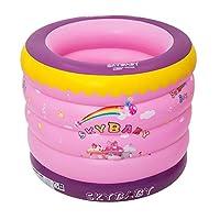 膨脹可能な浴槽、子供用浴槽の大人の折るプールの赤ん坊の浴槽 (色 : A)