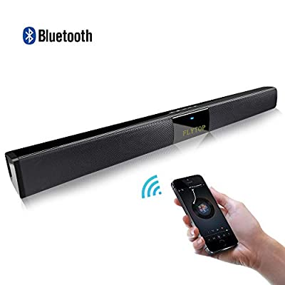 Wired and Wireless Bluetooth Soundbar with Subwoofer Home Theater Portable Outdoor Speaker for Phone/Tablet/and TV