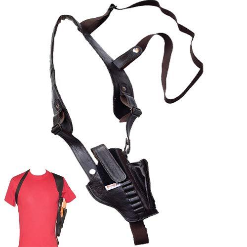 Tom Collins _ New Concealment Horizontal -.32 Pistol Shoulder and Belt Holster ( Black )
