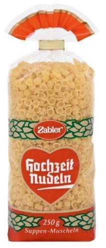 Zabler Suppen- Muscheln, 16er Pack (16 x 250 g Beutel)