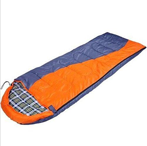 Preisvergleich Produktbild RJ YXX Schlafsack Erwachsener Im Freien Umschlag Schlafsack Wärme in Räumen Reisen Single Anti-schmutzig Wasserdicht Anti-kalt Kann verlinkt Werden Schlafsack,  orange