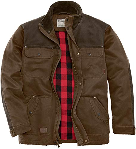 Legendary Whitetails Men's Tough as Buck Chore Coat, Rawhide, Large