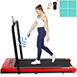 Happybuy Folding Treadmill, Under Desk Treadmills, Led Digital Display Treadmill Machine with Remote...