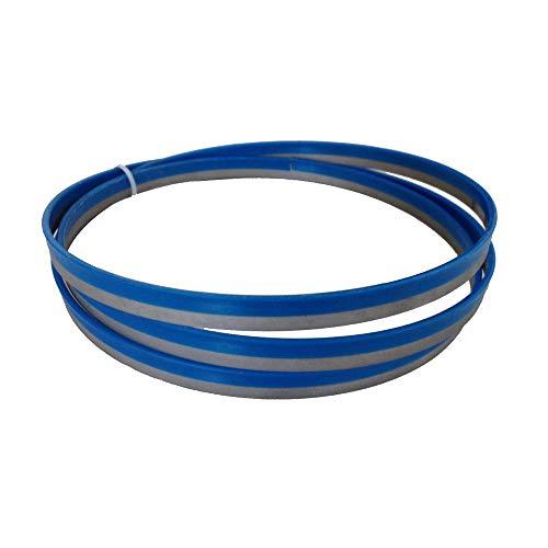 Sankuai 1pc 13 * 0,65 * 1,425 * 14tpi M42 Bi-Metal de Corte de Metales Band Hojas de Sierra Durable 56-1/8' x 1/2'