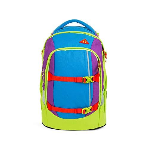Satch pack Schulrucksack - ergonomisch, 30 Liter, Organisationstalent - Flash Jumper - Blau