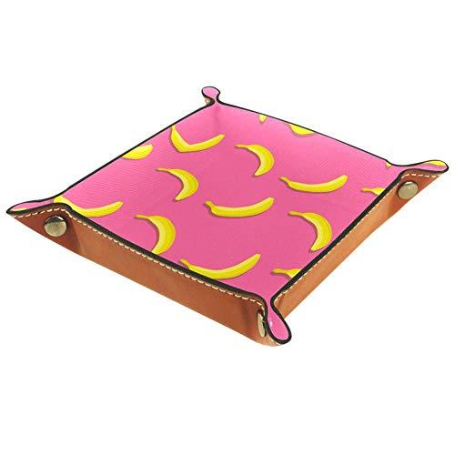 AIBILI Bandeja de dados de frutas de verano estilo plátano con bandeja de dados para juegos de mesa RPG DND bandeja de dados