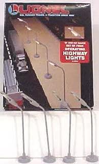Lionel Electric O Gauge Model Train Accessories, #72 Highway Lights