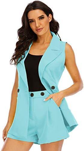 Sleeveless suit jacket