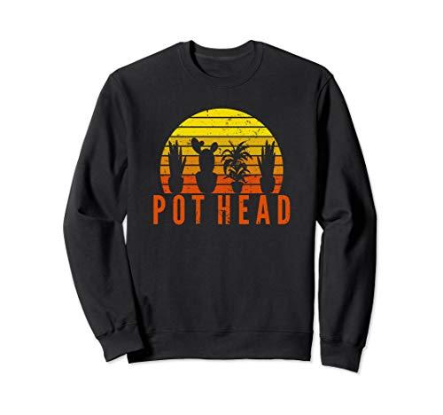 Garten Pot Head | Gartengeschenk für Gärtner Sweatshirt