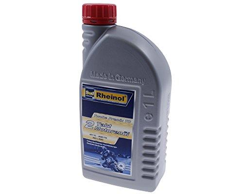 RHEINOL Motoröl Twoke Premix TC - 2-Takt - 1 Liter für Simson Albatros 50cc, Habicht, S50, S51